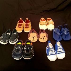 Other - Baby shoe lot - various brands sizes 0-2